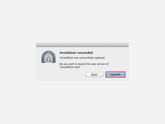 Mac OS X OpenVPN setup guide | Tunnelblick Install