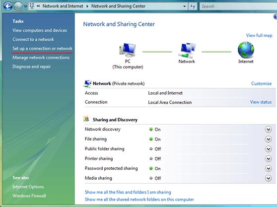 How to set up L2TP VPN on Windows Vista