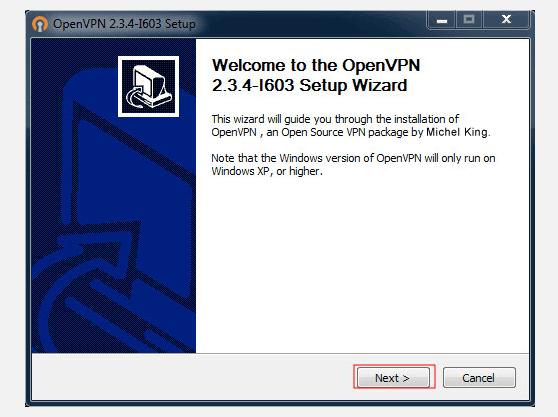 Setting up VPN on  Windows 8 using OpenVPN | Install