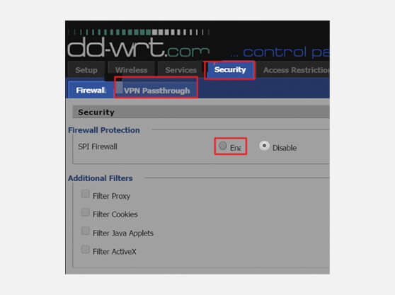 How to create PPTP VPN on DD-WRT Router (without Script)