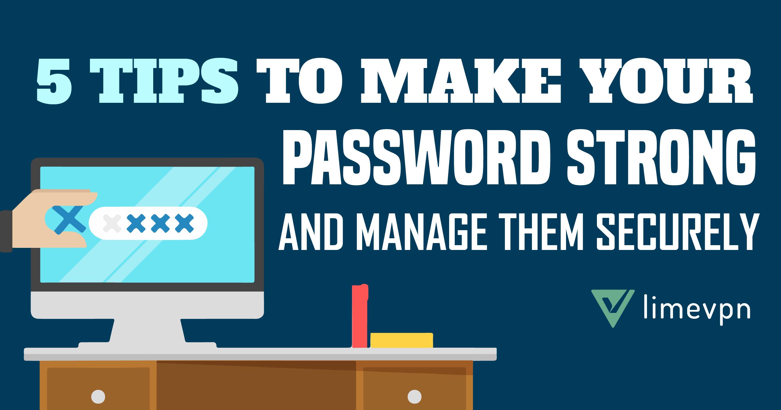 make password strong