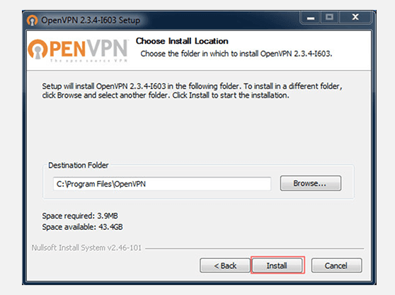 Create VPN connection on Windows 7 with OpenVPN | Install