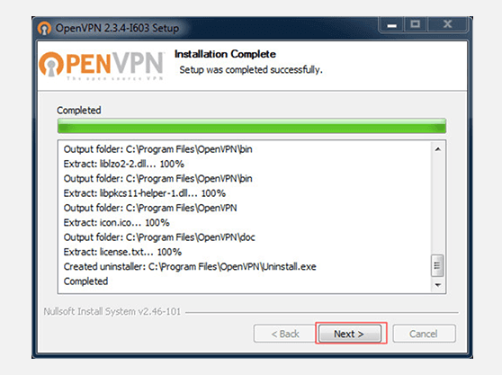 Windows 7 OpenVPN configuration | Install