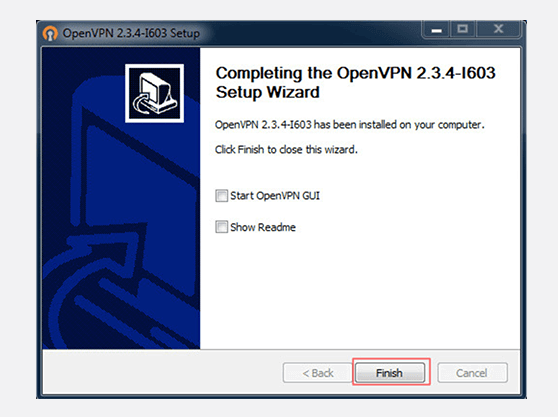 Windows 7 OpenVPN connection Install