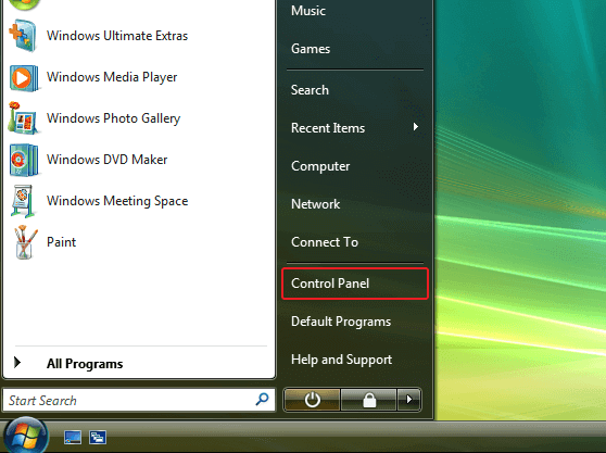 Windows Vista L2TP VPN setup | Control Panel