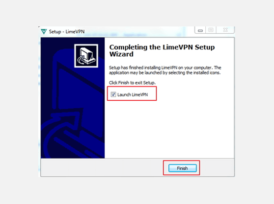 LimeVPN Windows Client