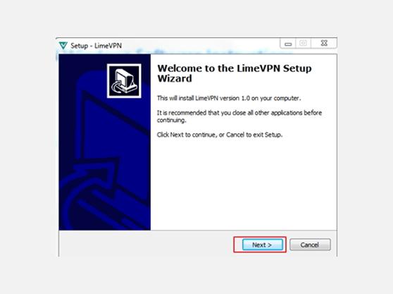 VPN app for Windows | installation