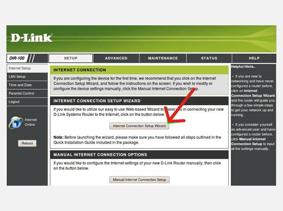 setup VPN client on DLINK DIR-100