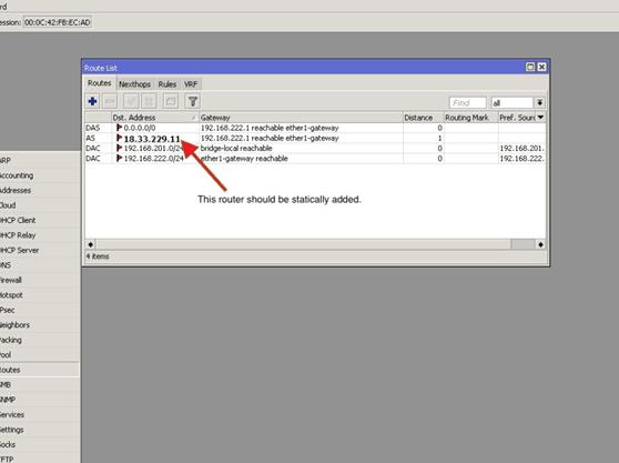 Configure VPN on MIKROTIK Router