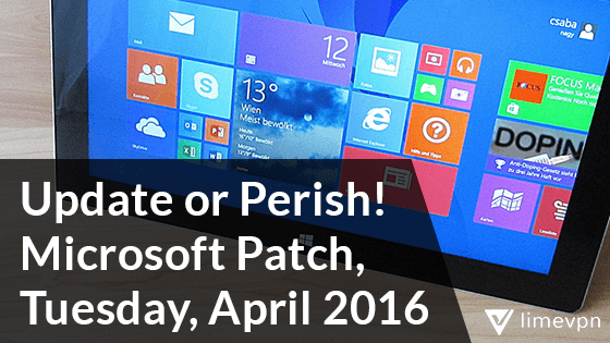 Microsoft tuesday Patch Update