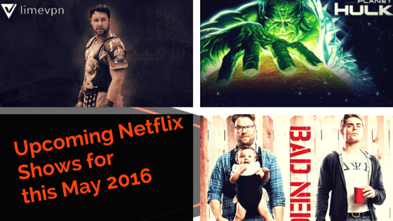 Netflix upcoming new releases 2016