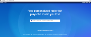 after using VPN , able to open up pandora