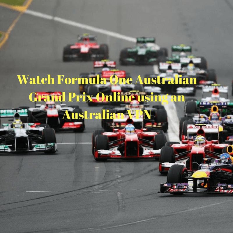 Watch Formula One Australian Grand Prix