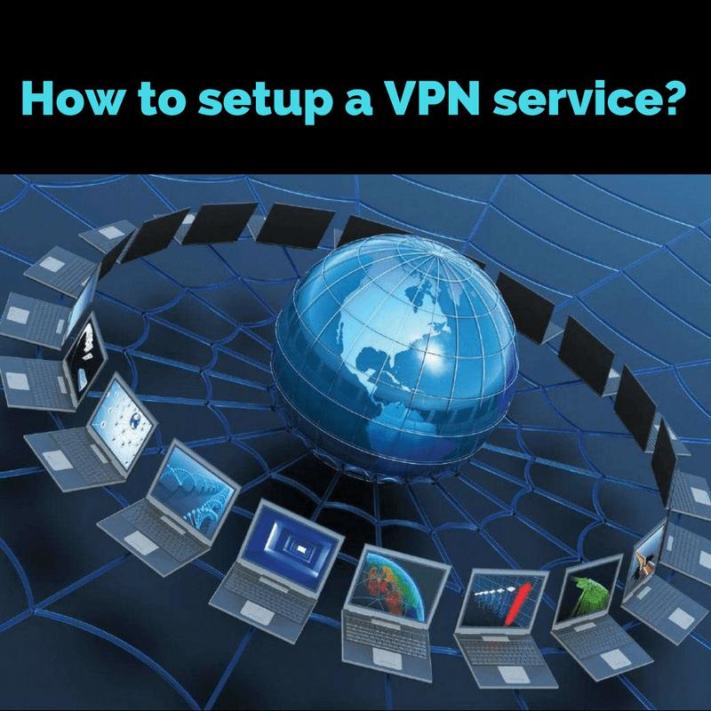 setuping VPN