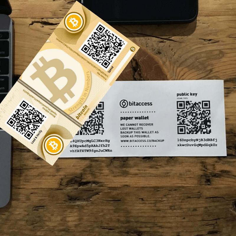 paperwallet bitcoin