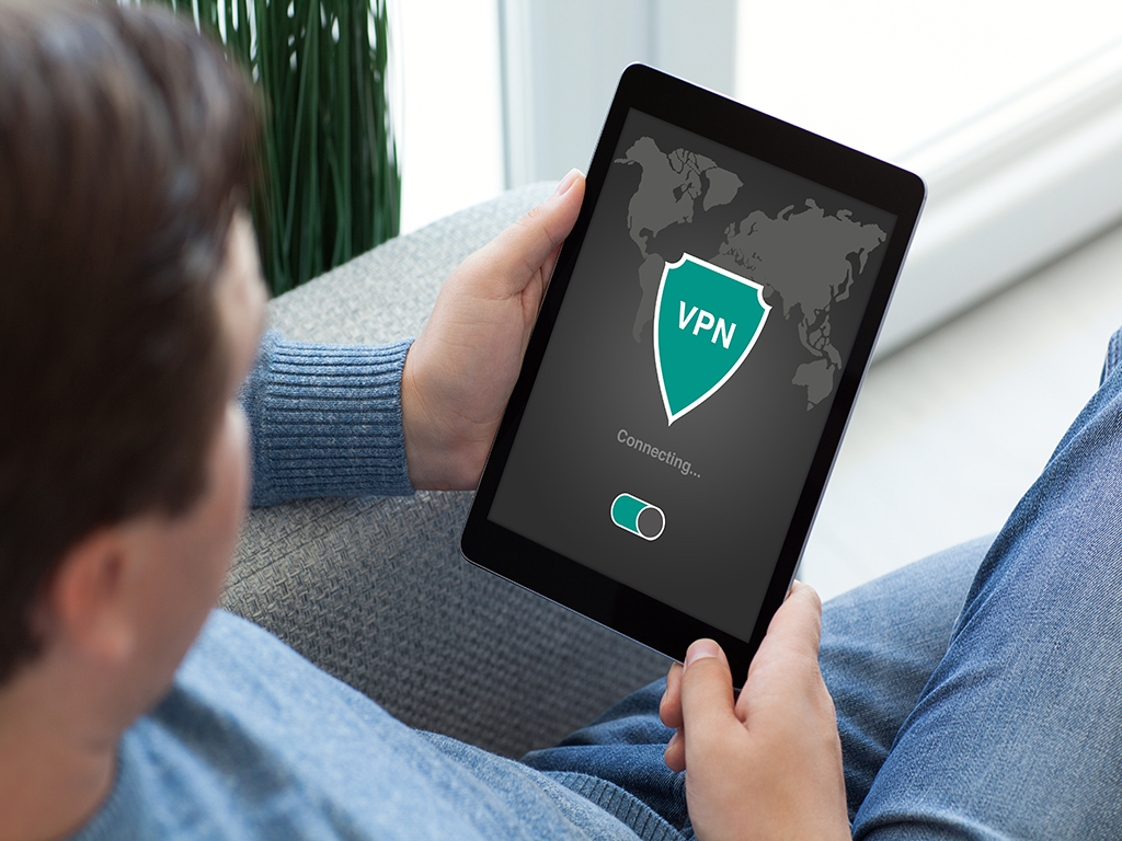 Tab with VPN