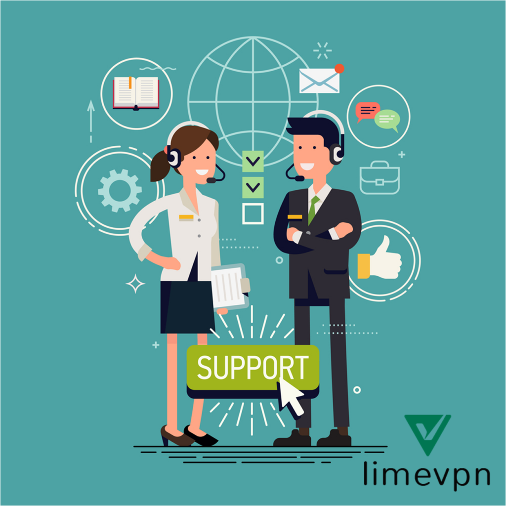 Lime VPN support