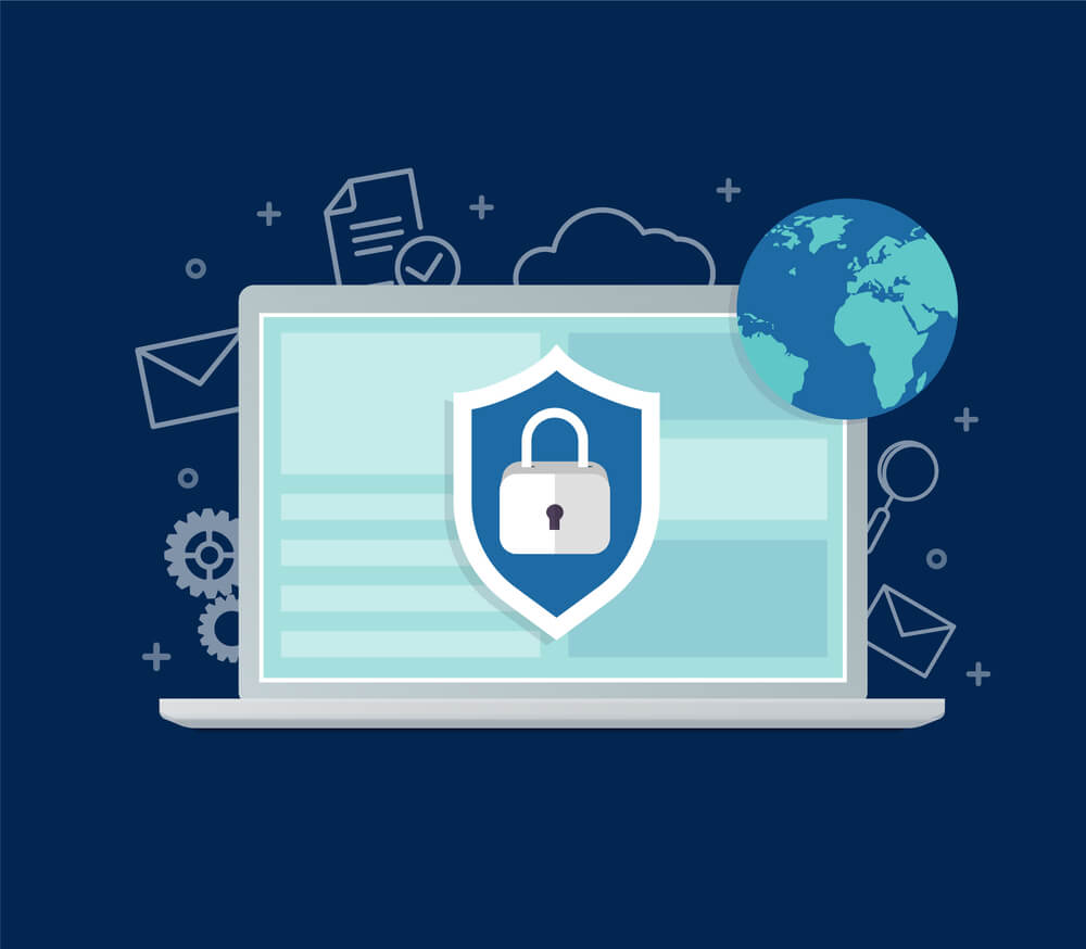 protect data with VPN