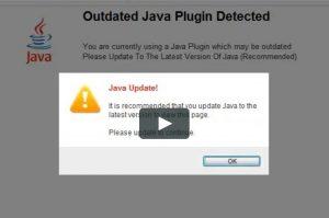 disable java and unused plugins