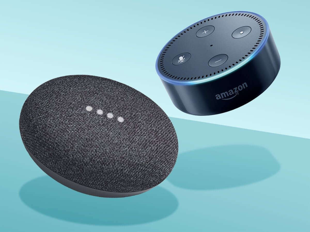 Google or Amazon servers