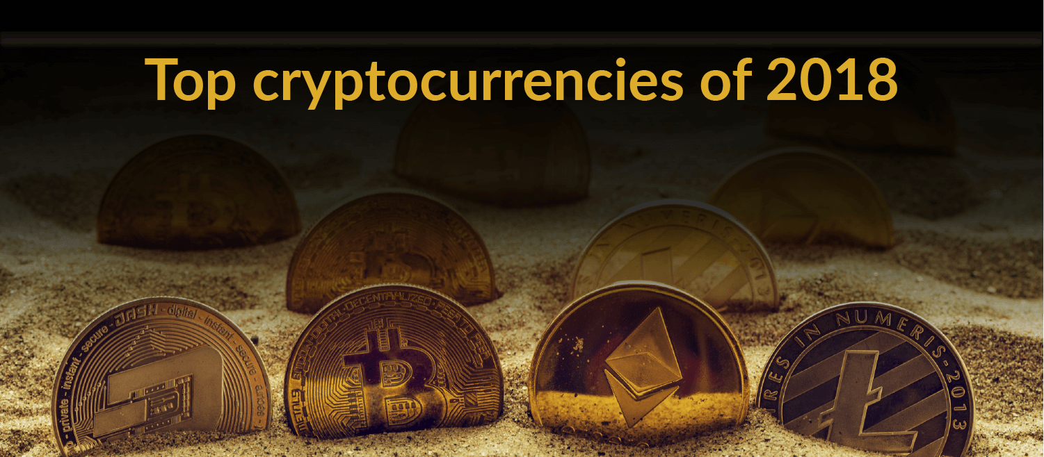 top crypto currencies of 2018