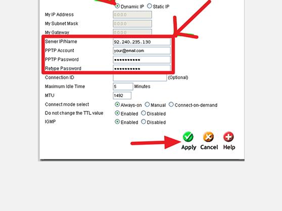 setup VPN on D-LINK DL-524 router