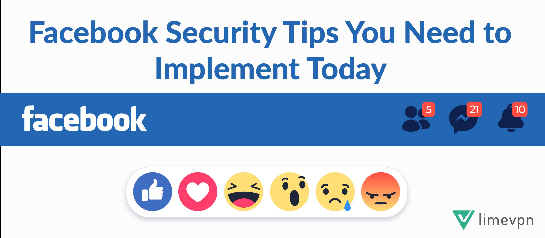 facebook security tips