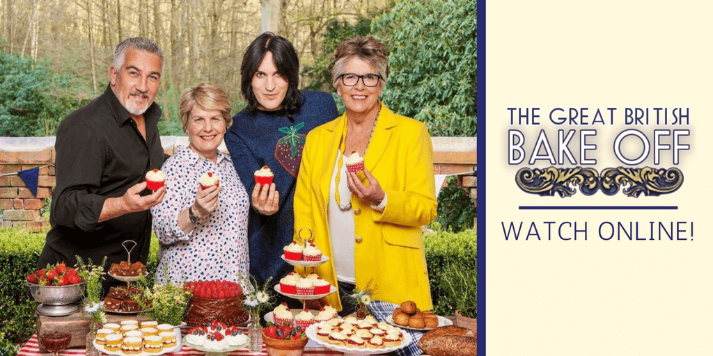 The great british baking show 3