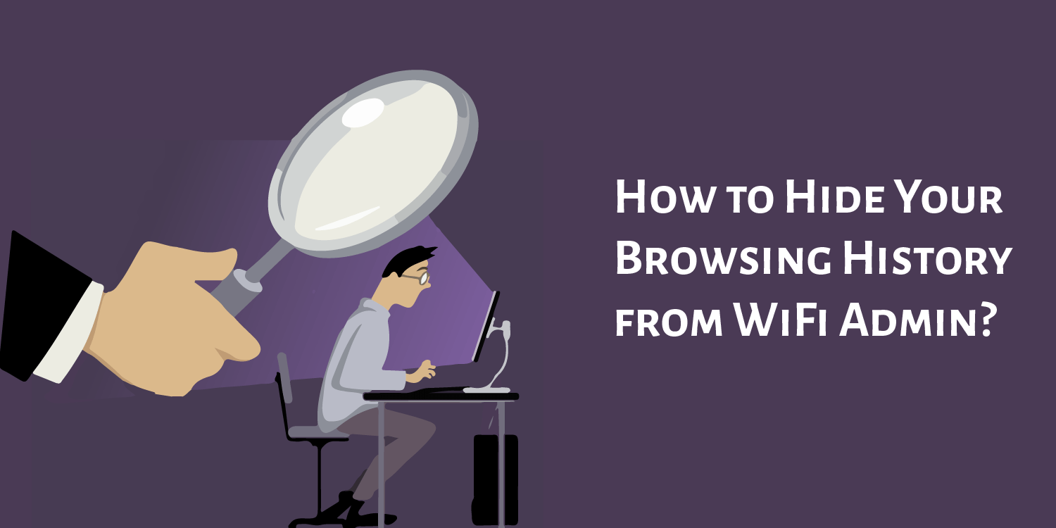 how to hide browsing history from wifi router, private browsing on public wifi