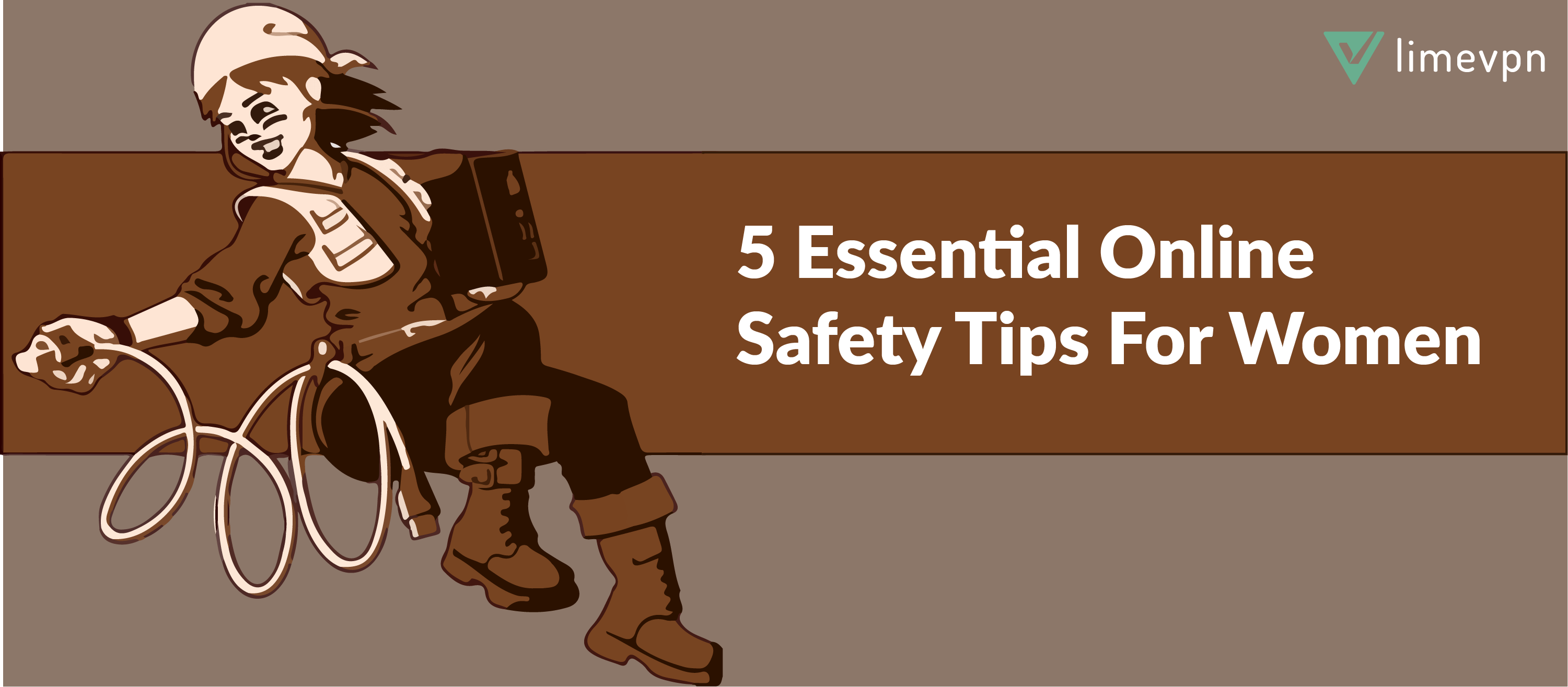 5 online safety tips for women