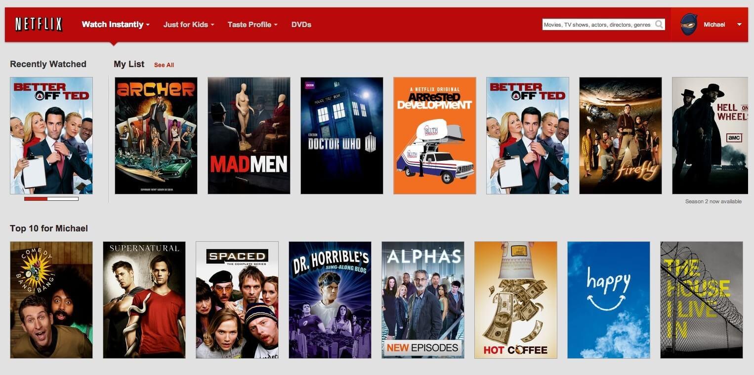 Netflix – the best online movie streaming site