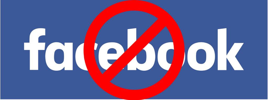 Facebook blocked in school