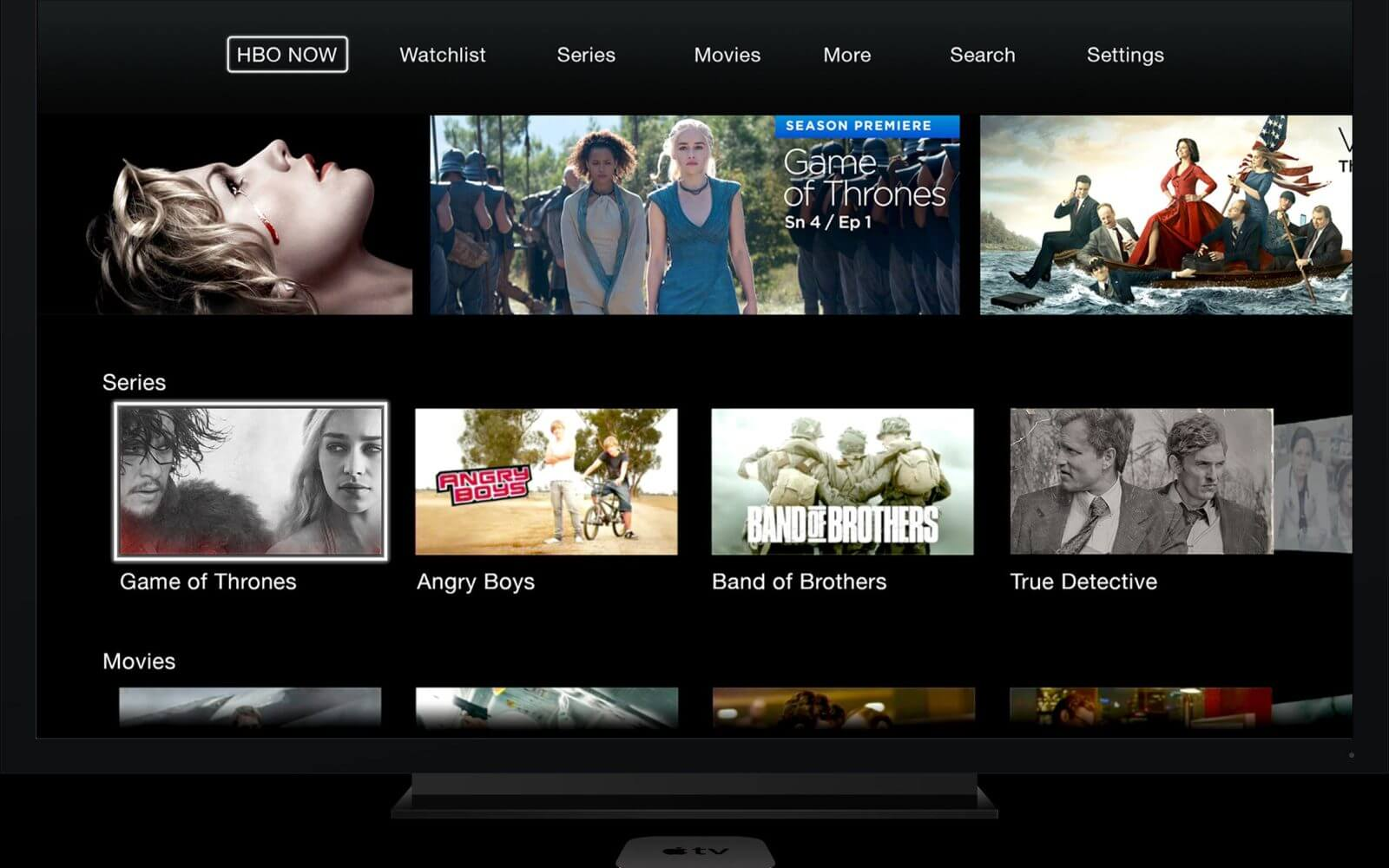 HBO GO — unblock US HBO NOW online streaming service