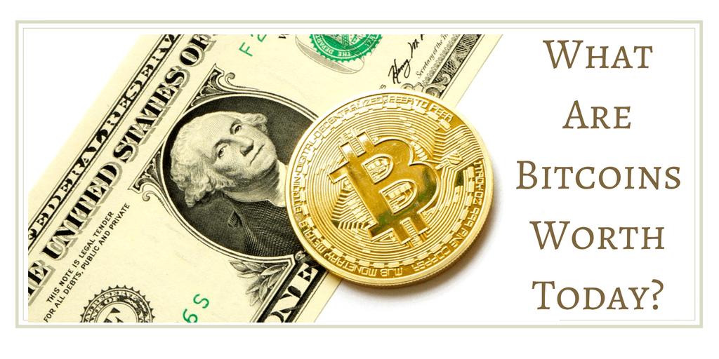 Bitcoins Worth Today