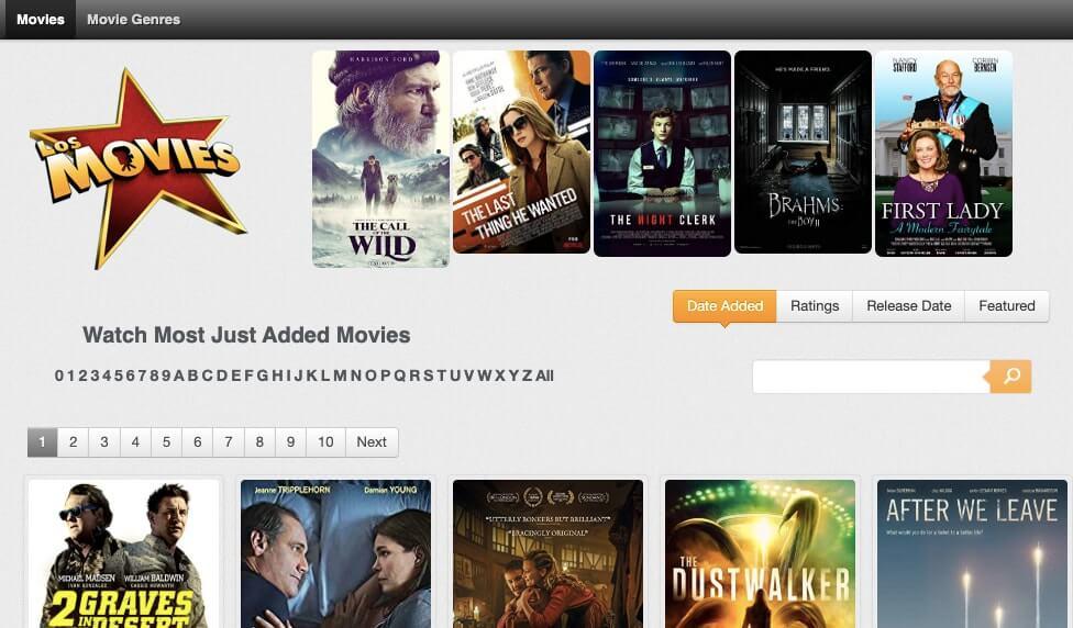 Putlocker Alternatives_los movies
