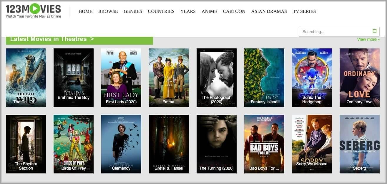 Putlocker Alternatives_123 movies