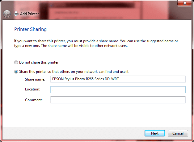 Step 8 – Share