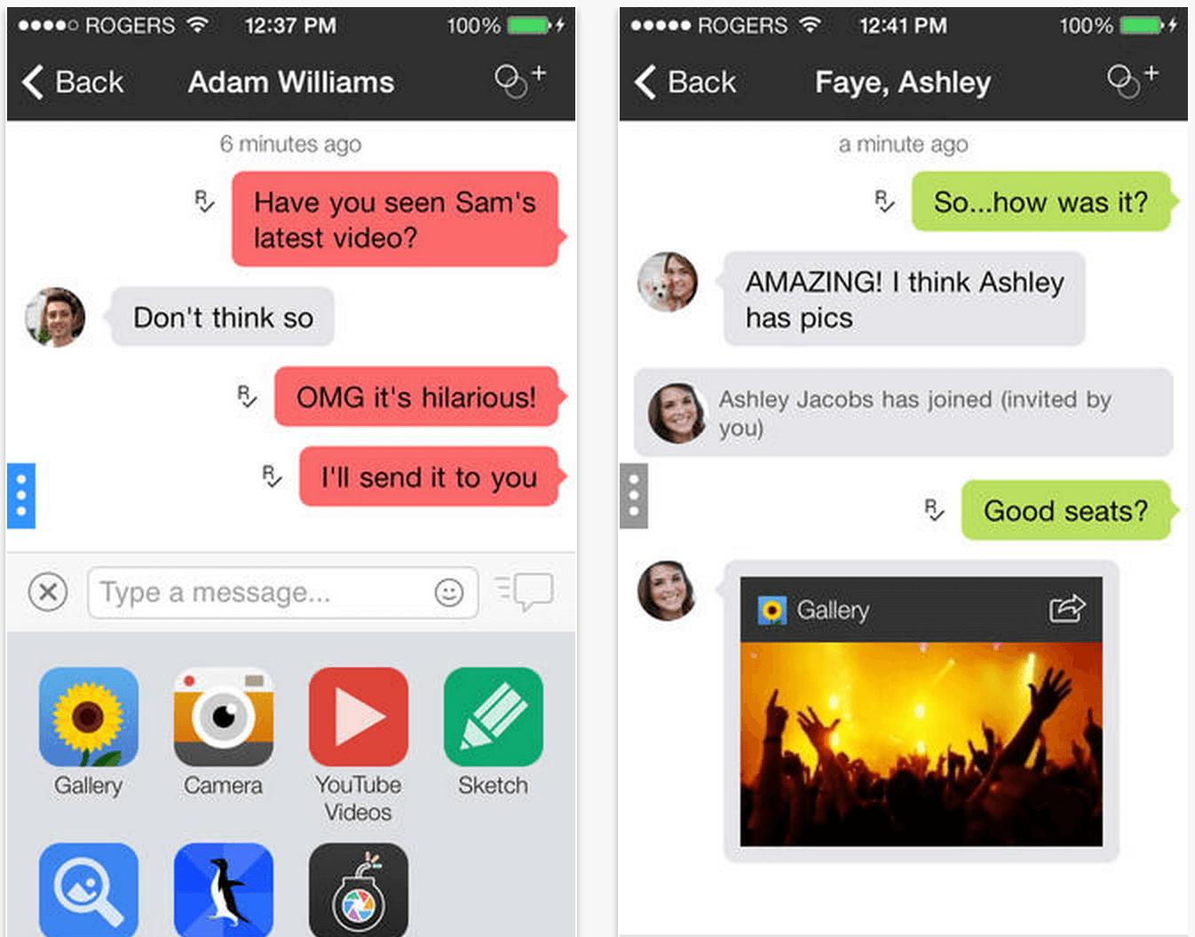 Risky Social networking apps — Kik Messenger