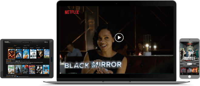 Safe stream all your favourite series and movies from Netflix's largest library, no mater where you are