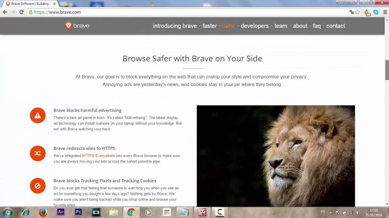 web browsers in 2019 brave